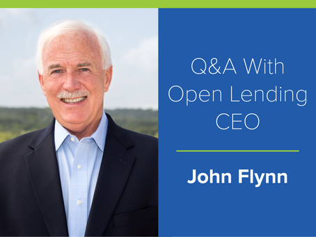 Q&A With Open Lending CEO: Secret to Success Is to Face Adversity Head On