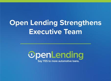 Open Lending Strengthens Executive Team