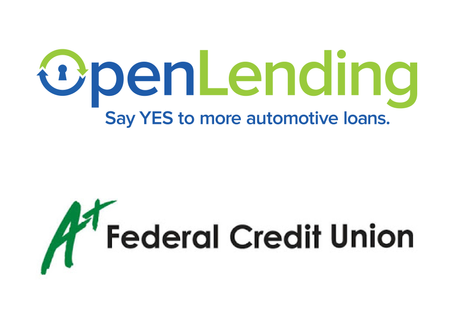 Open Lending Signs A+ Federal Credit Union to Lenders Protection™ Program