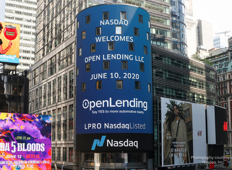 Nebula Acquisition Corporation Completes Business Combination with Open Lending