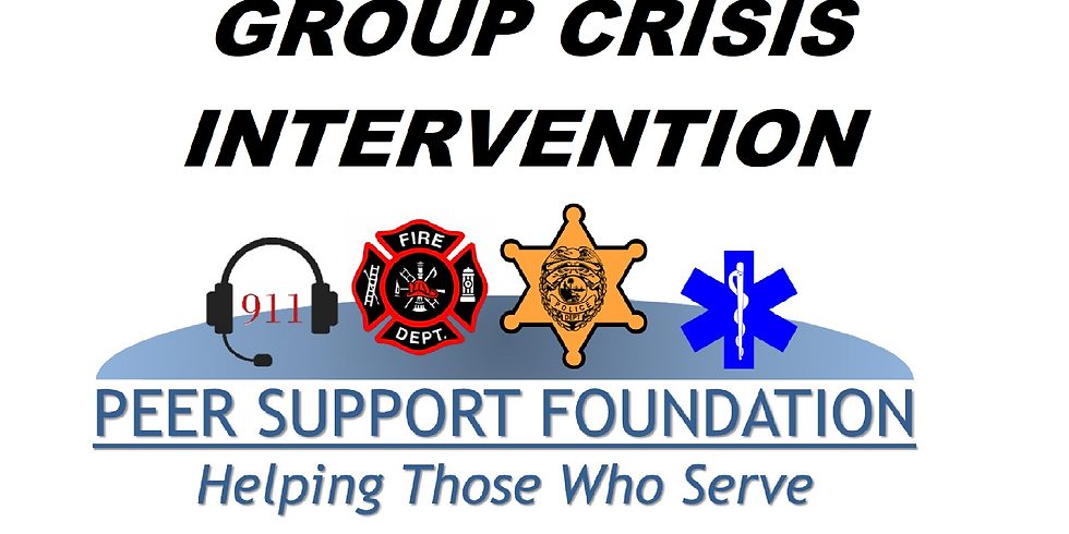 Group Crisis Intervention Training - ICISF