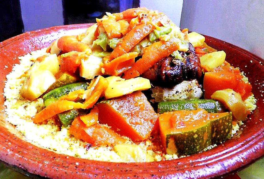 Morocco dish Couscous