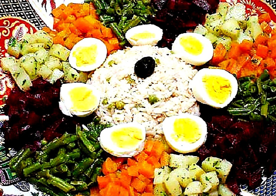 Moroccan Salad-moroccan cuisine tour