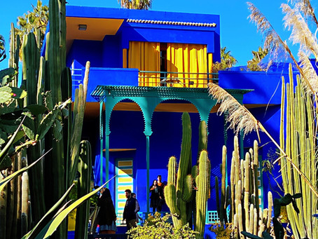 Majorelle Garden Morocco - A Calming Charm In The Craziness