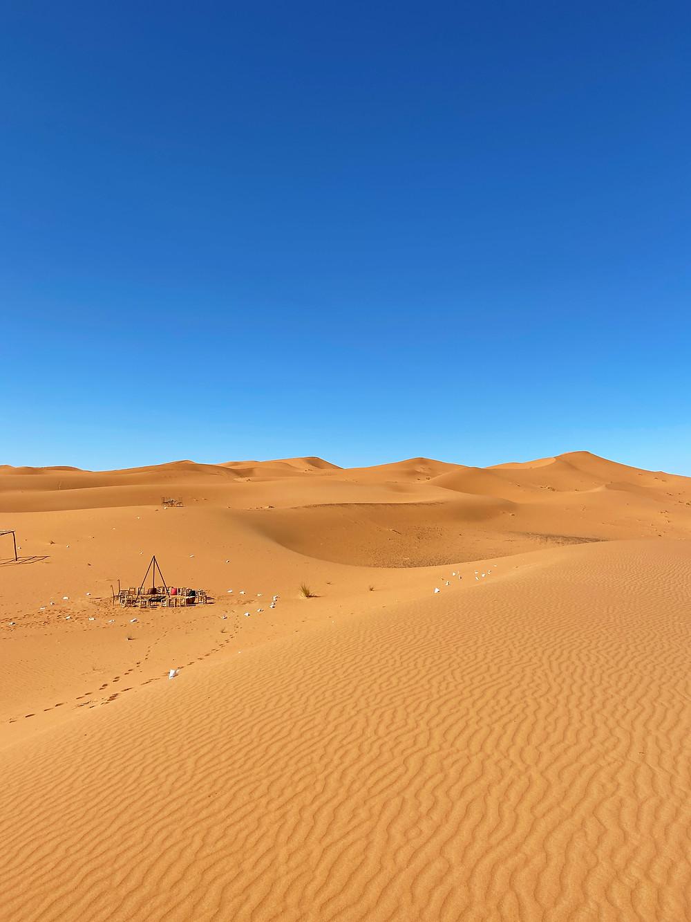 Sahara desert dunes
