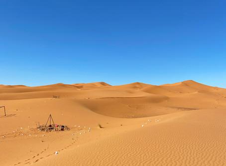 Explore magic Sahara Desert in Morocco