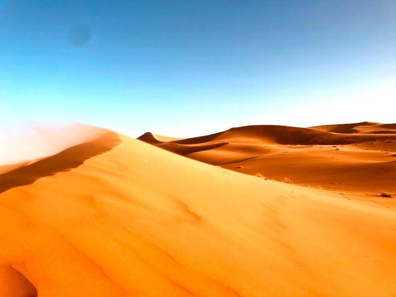 Morocco Sahara desert Dunes