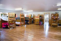 Inside Chestnut Cabin