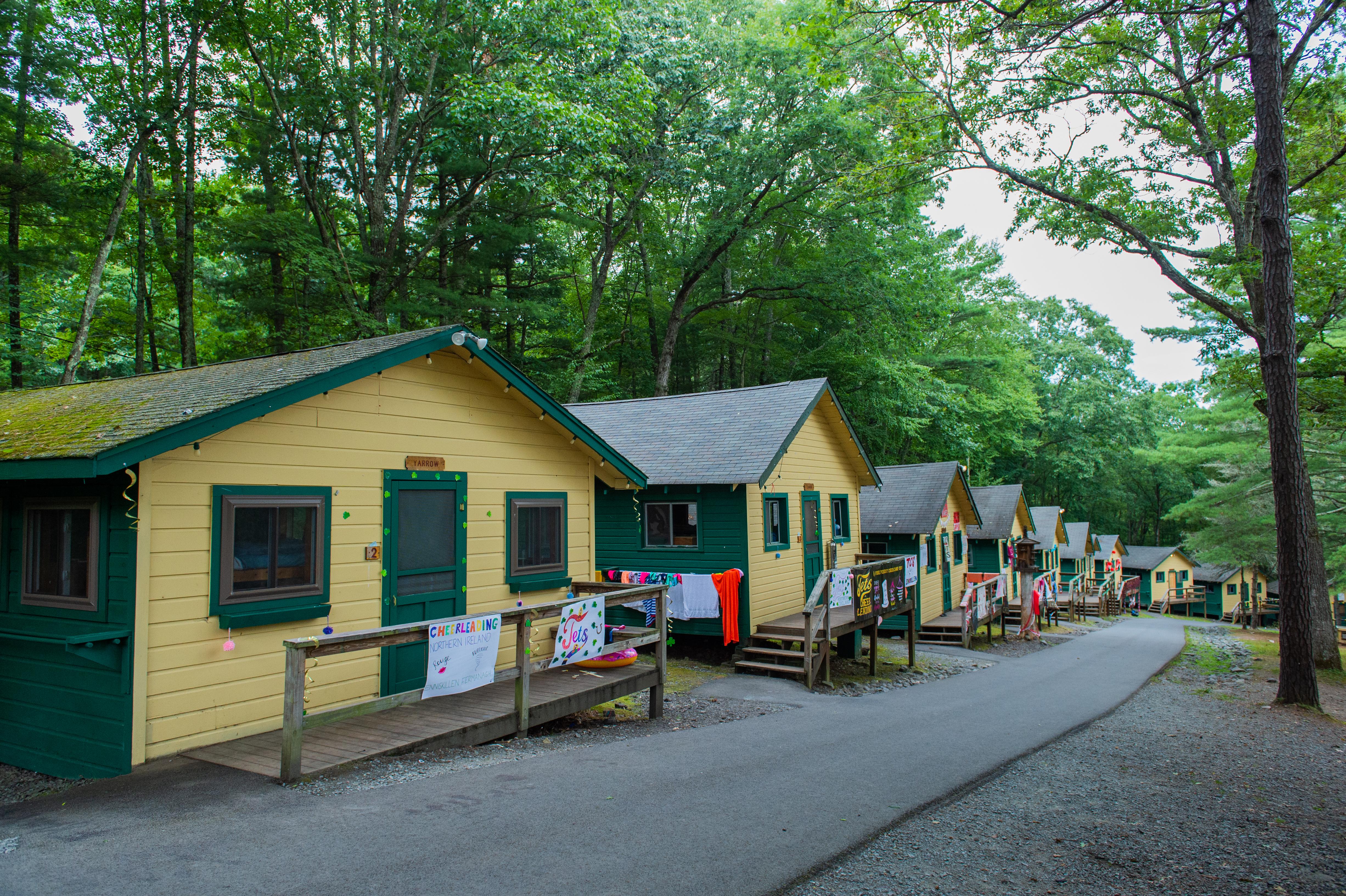 Cabin Row