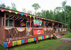 Decorated Cabins