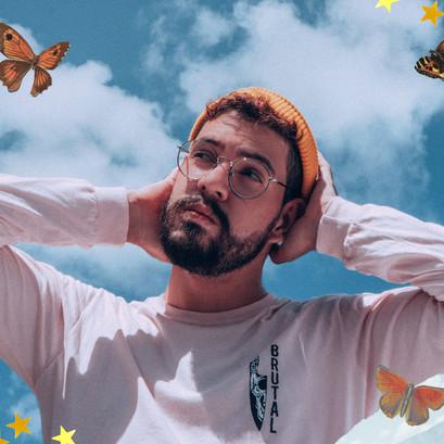 """Conheça Gabriel França e seu single, """"Céu Azul"""": Indie Rock brasileiro em sua melhor forma. Ouça:"""