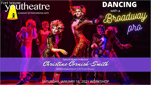Dance w/ A Broadway Pro - Pre-Recorded Workshop w/ Christine Cornish-Smith