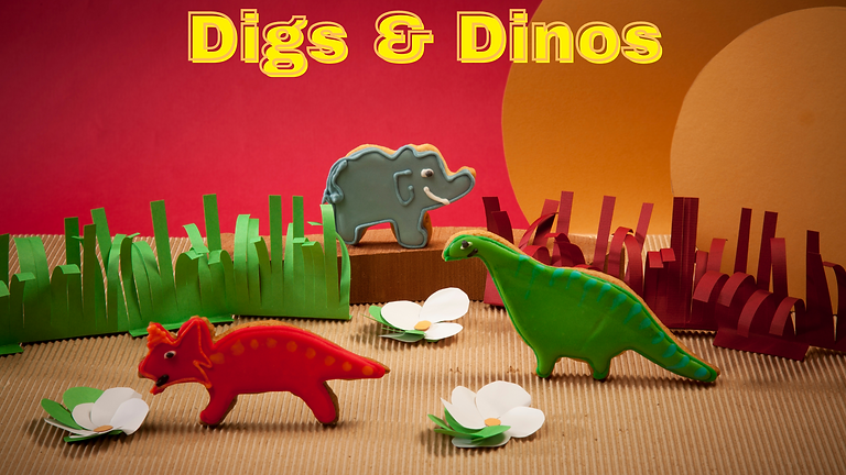 Let's Show Off! Digs & Dinos