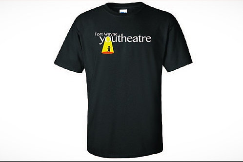Black Cotton Fort Wayne Youtheatre T-Shirt