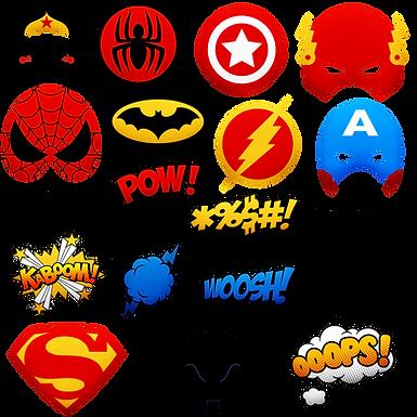 Comic Character Universe: Super Heroes 11:30am (Grades 4th-6th)