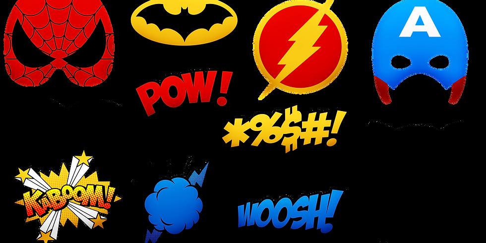 Comic Character Universe: Super Heroes 10am (Grades 4th-6th)