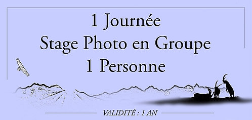 1 journée Stage Photo Groupe