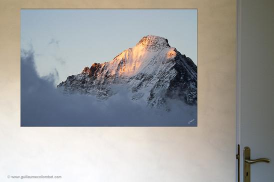 Photo d'art montagne