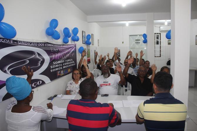 Sindicato realiza assembleia para prestação de contas