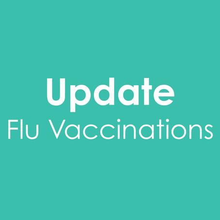 Update on flu vaccine eligibility