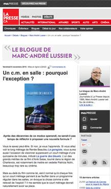 La Presse | Marc-André Lussier