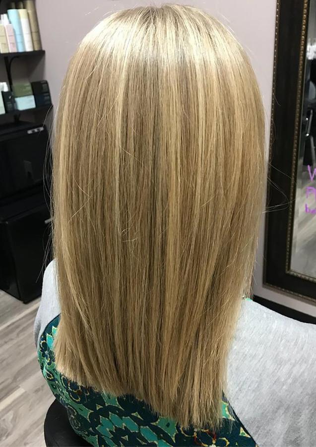 long haircut