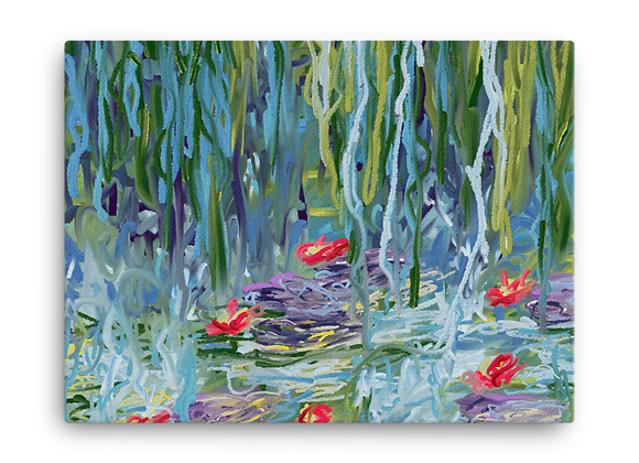 """""""Water Lily"""" 00.2 Canvas"""