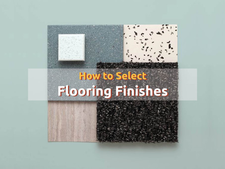 How to select flooring Finish?
