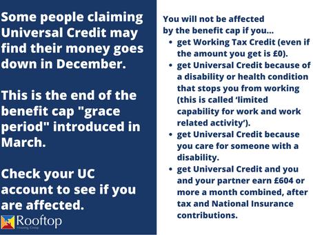 Universal Credit Benefit Cap