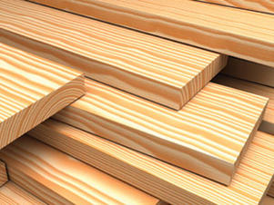 Lumber, Sidings, Plywoods + Composites