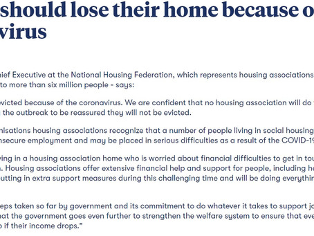 National Housing Federation Statement on Rent