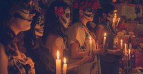 Gebet um Santa Muerte zu danken