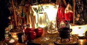 Santa Muerte Altar