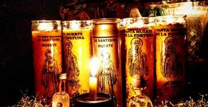 Santa Muerte Kerzen