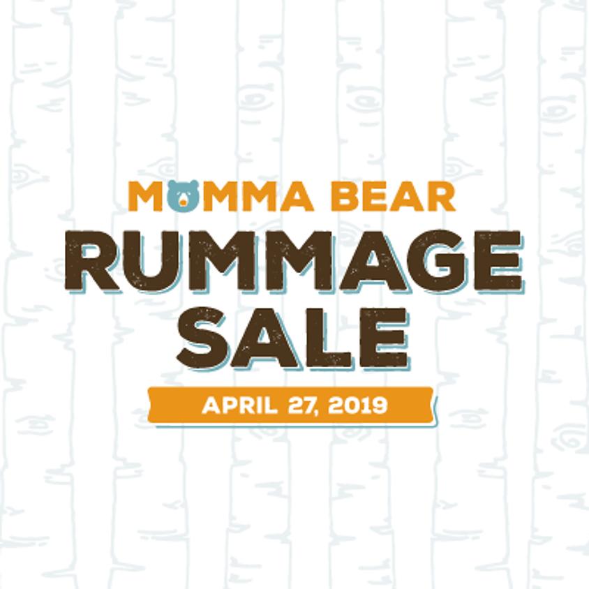 MoMma Bear Rummage Sale