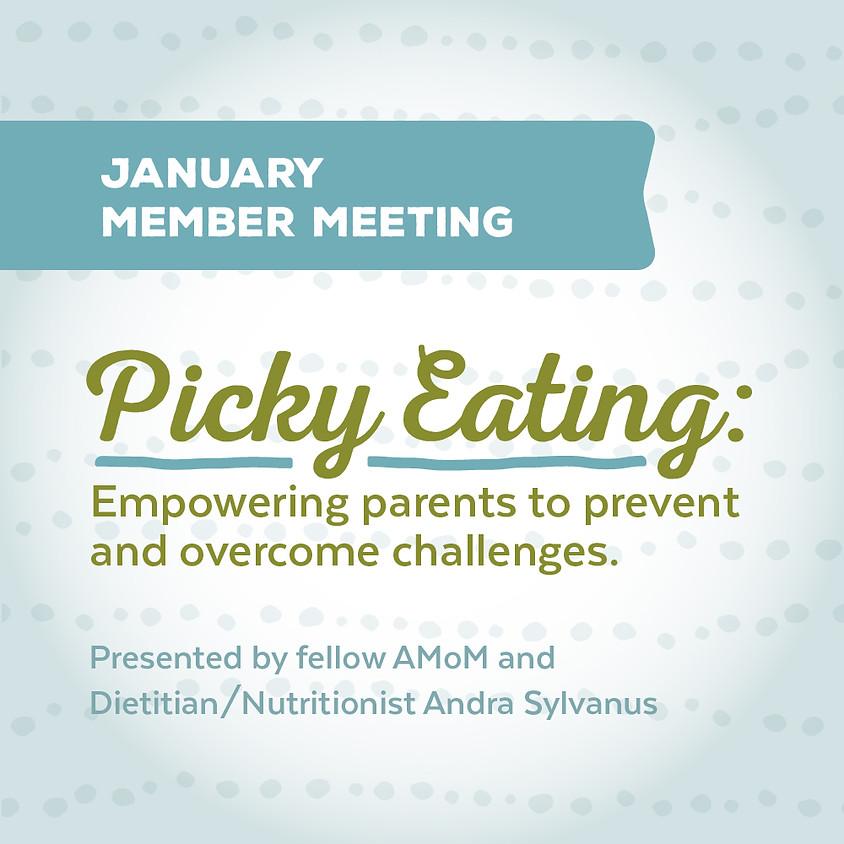 AMoM January Meeting: Picky Eating