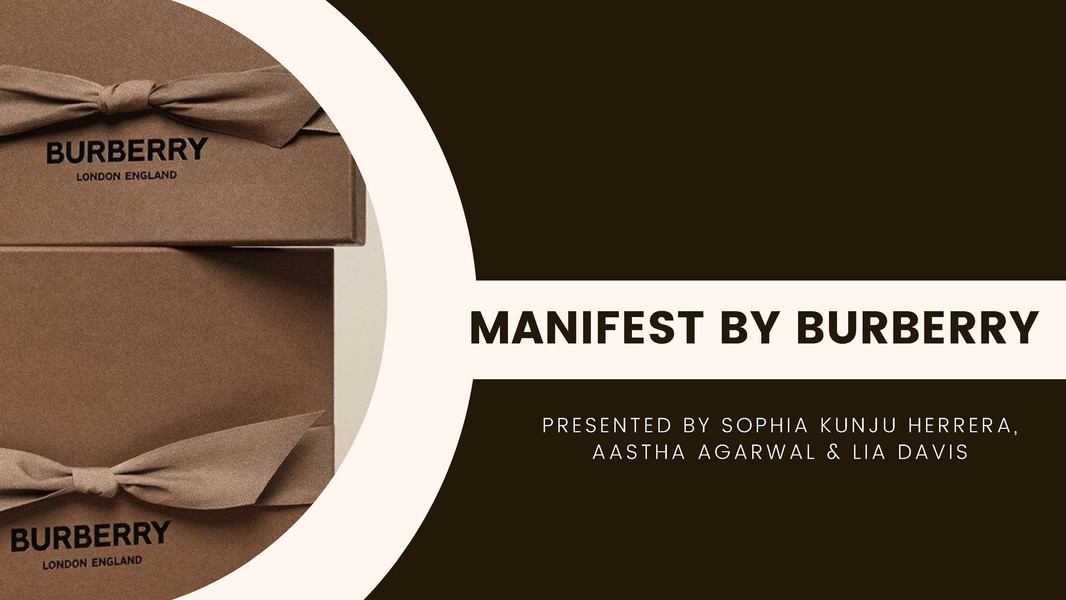 Manifest by Burberry
