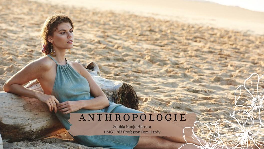 Scenario Planning-Anthropologie