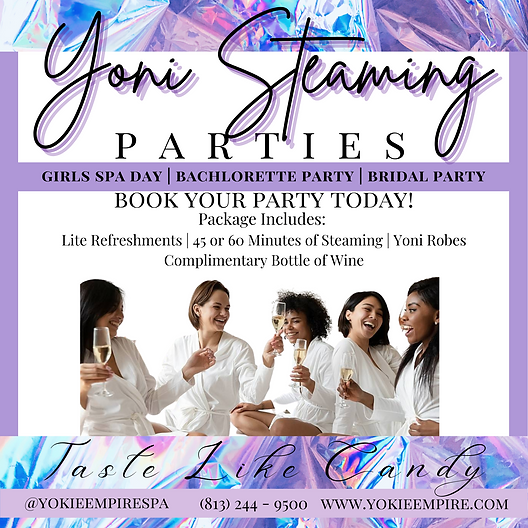 Lavender Photo Spa Party Invitation.png