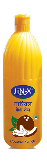 JiN-X Coconut Hair Oil (Yellow) 500ml