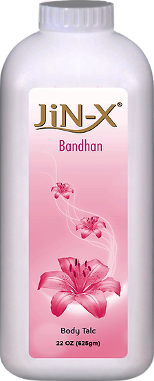 JiN-X Bandhan Body Talc 400gm