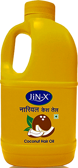 JiN-X Coconut Hair Oil (Yellow) 1Ltr