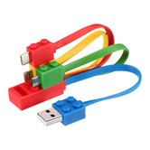 3IN1 CELLPHONE CABLE - BUILDING BLOCK ST