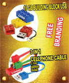 LEGO USB AND CABLE