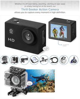 Thrill-Seeker Action Camera