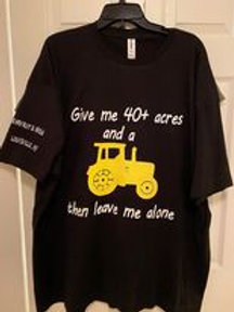 40 AND A TRACTOR