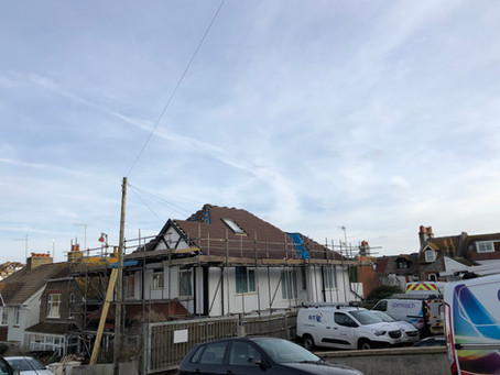 New roof in rottingdean