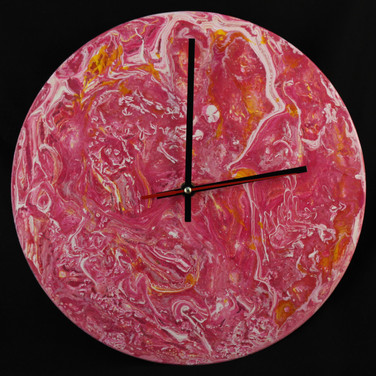 Cotton Candy Clock