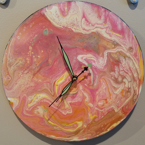 Strawberry Moon Clock