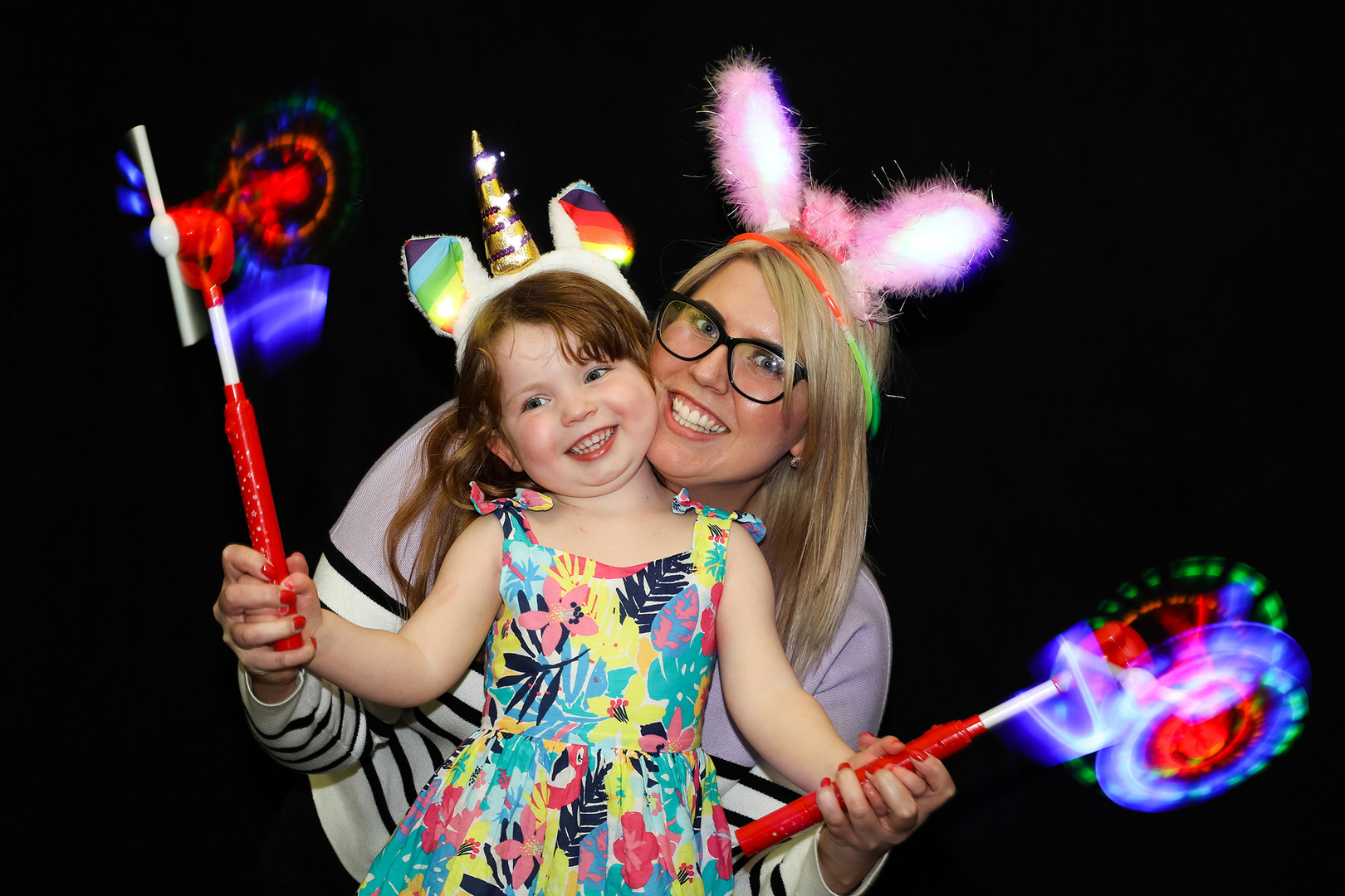 Glow Photo Booth Hire